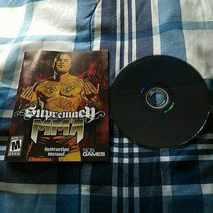 PS3 Supremacy MMA video game